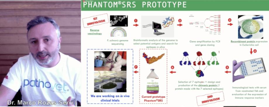 PhantomSRS fue desarrollada en base a vacunología inversa. Imagen: Captura de pantalla.