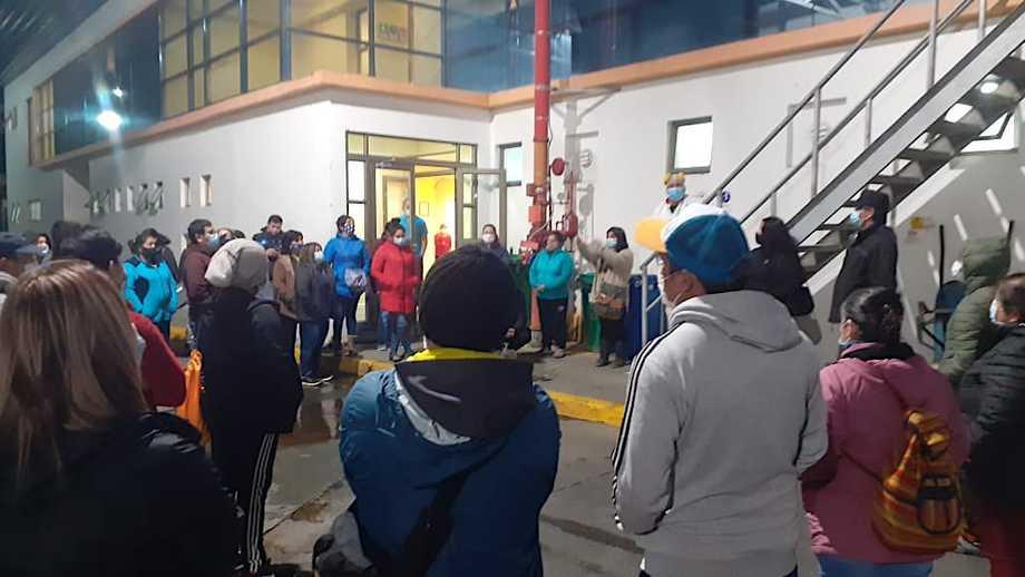 Trabajadores de Surproceso piden cuarentena preventiva para la planta. Foto: Cedida.