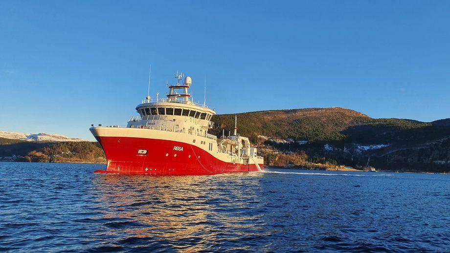 MS «Reisa» er den fjerde i serien som blir levert til Norsk Fisketransport. Foto: New Havyard Ship Technology