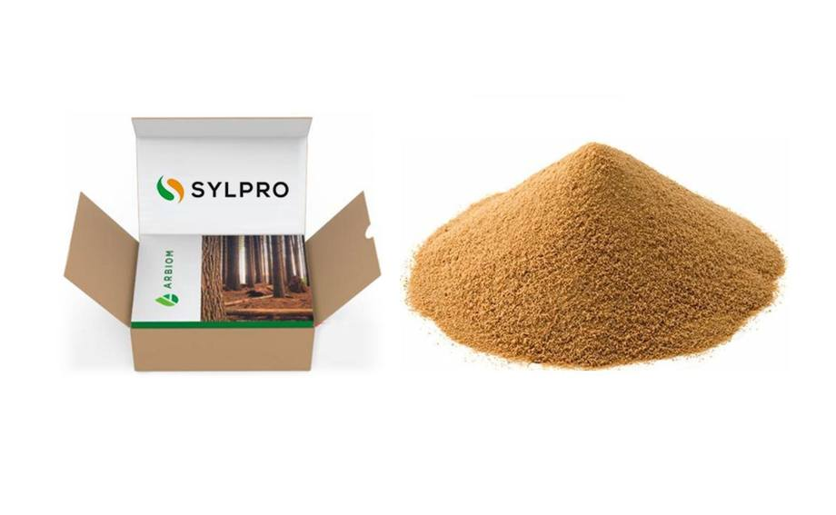 SylPro is a feed ingredient made from woody biomass. Photo: Arbiom.