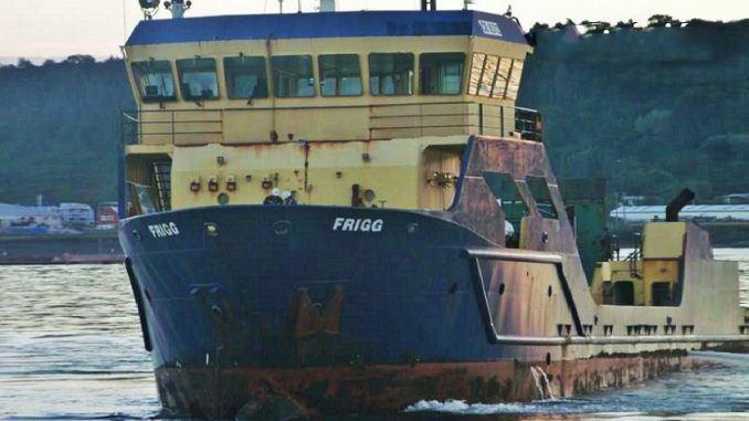 Embarcación Frigg de Detroit. Foto: La Opinión de Chiloé.