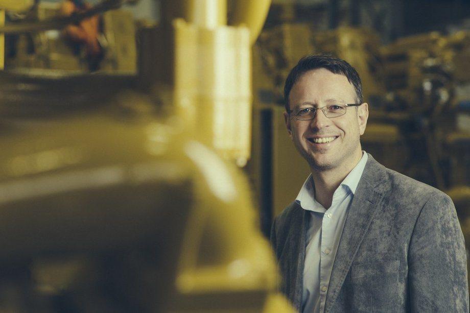 Claus F. Høyer er administrerende direktør i Pon Power. Foto: Pon Power