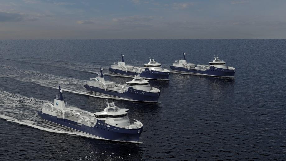 Myklebust sikret seg ny kontrakt for bygging av brønnbåt til Sølvtrans. Illustrasjon: Sølvtrans