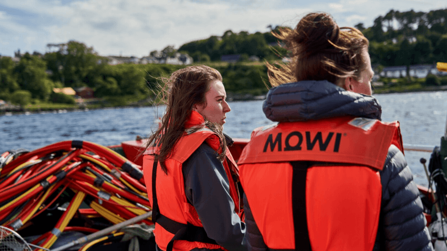 Women working at Mowi Scotland's Carradale site. The Scottish Government and Lantra Scotland are offering training worth £500 for women who are in or wish to join the sector. Photo: Mowi / Upfront Photography / Dynam.