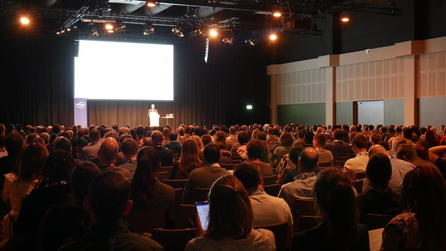 There was a packed crowd for the opening of AE2019 in Berlin. AE2020, which had been due to take place in Cork last autumn, will be held online in April. Photo: FFE.