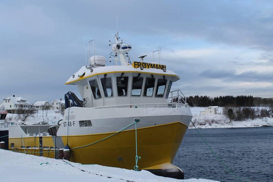 MS «Frøymann» er levert fra Folla Maritime til Vigrunn AS. Foto: Folla Maritime