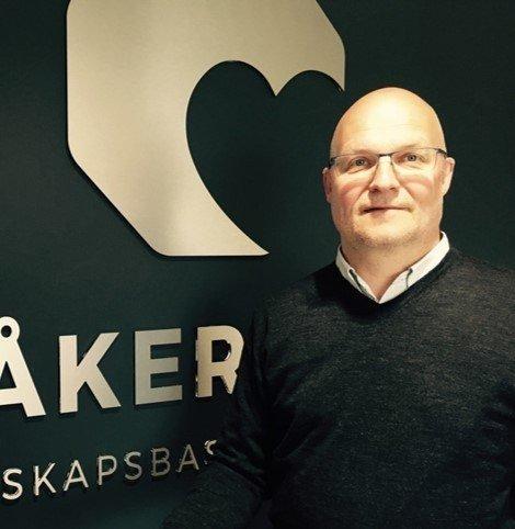 Roger Sørensen, Åkerblå. Foto: Åkerblå