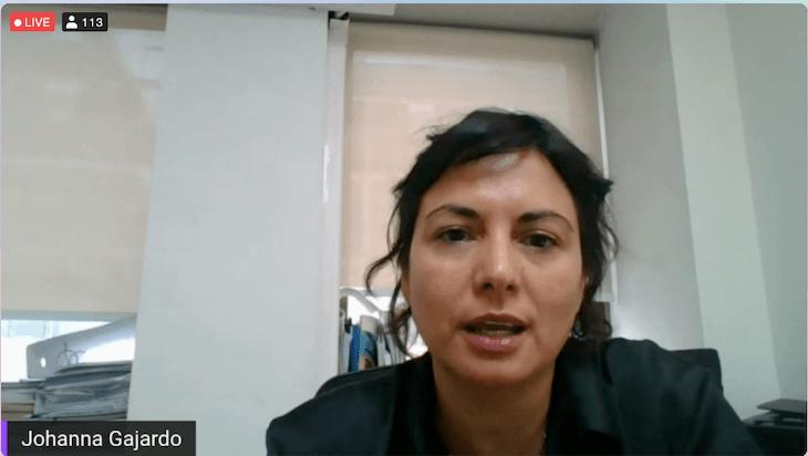 Johanna Gajardo, gerente I+D de FAV, Abbott EPD.