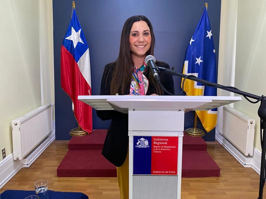 Natalia Easton, seremi de Economía en Magallanes. Foto: Seremi Economía Magallanes.