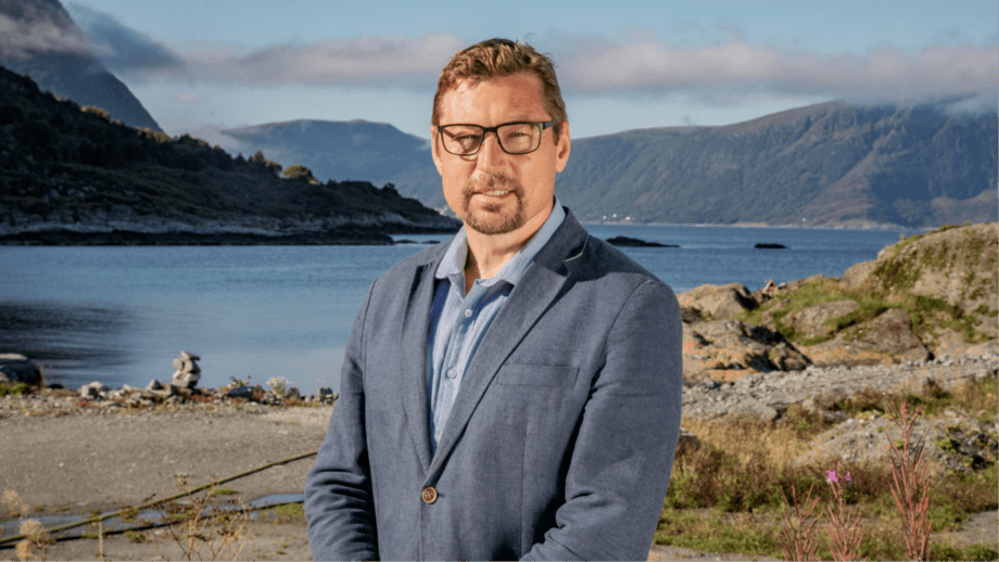 """Organic Sea Harvest chief executive Ove Thu. """"The Clydesdale Bank relationship will make it possible for OSH to draw even more attention to the Scottish origins of our business,"""