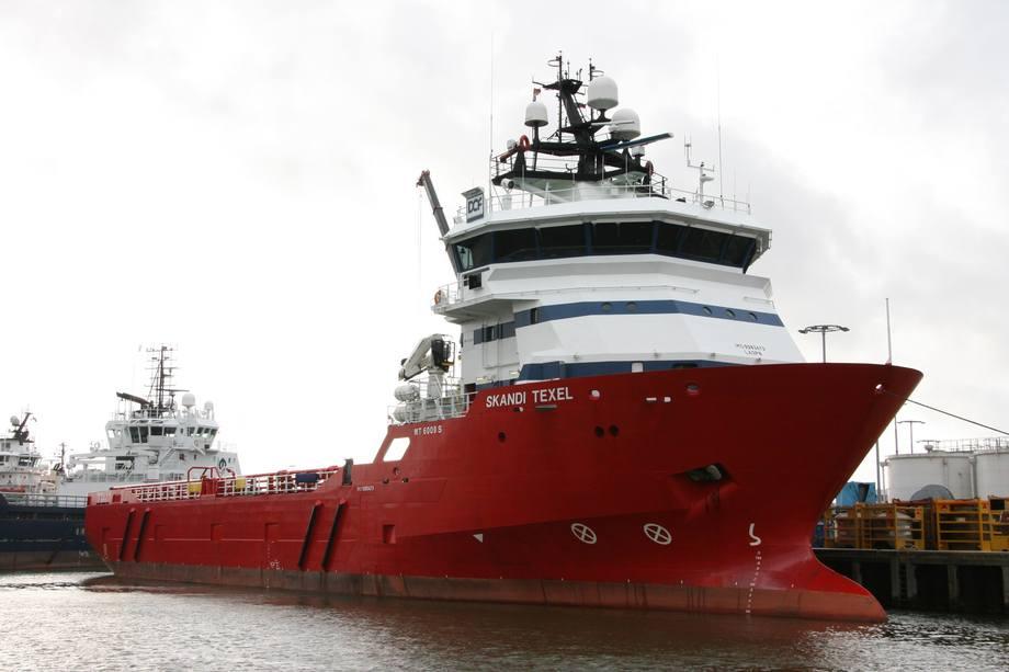 Frøy ASA har kjøpt offshorefartøyet Skandi Texel fra Dof ASA. Nå blir den avlusningsfartøy. Foto: Dof
