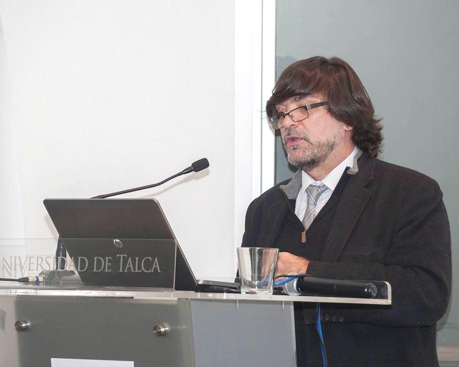 Michel Leporati. Foto: Universidad de Talca.