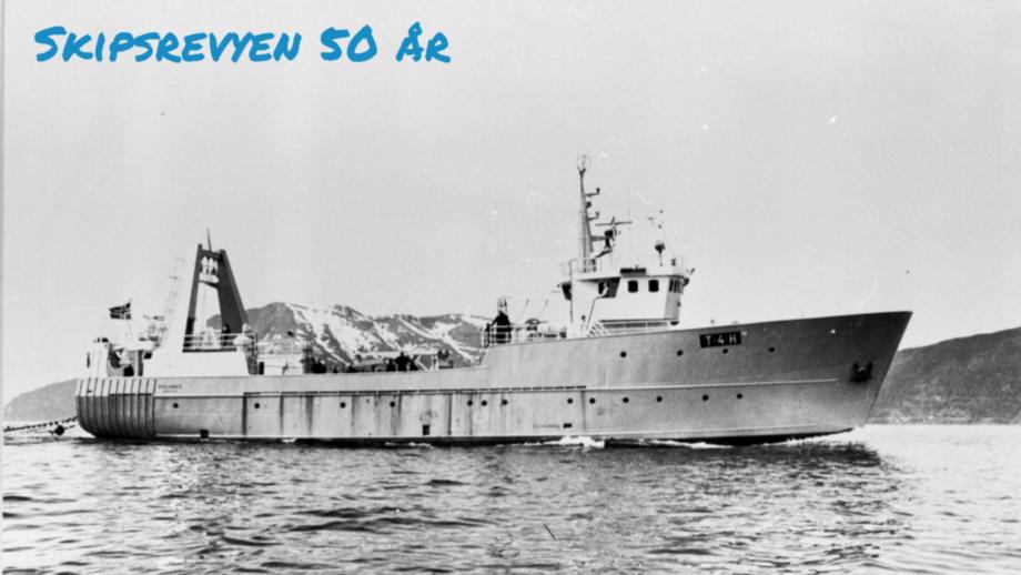 «Rollanes» tjente som fiskefartøy fra 1971 til 1982 da den ble bygget om til standby-fartøy for off-shore næringen. Foto: Sør-Troms Museum