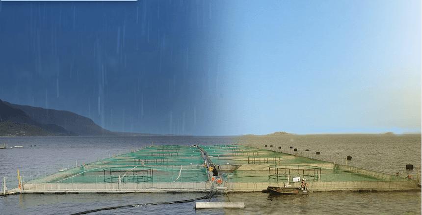 """Lea el artículo completo """"Amenazas y riesgos del cambio climático en la salmonicultura"""" en la nueva edición de revista Salmonexpert. Imagen: Salmonexpert."""