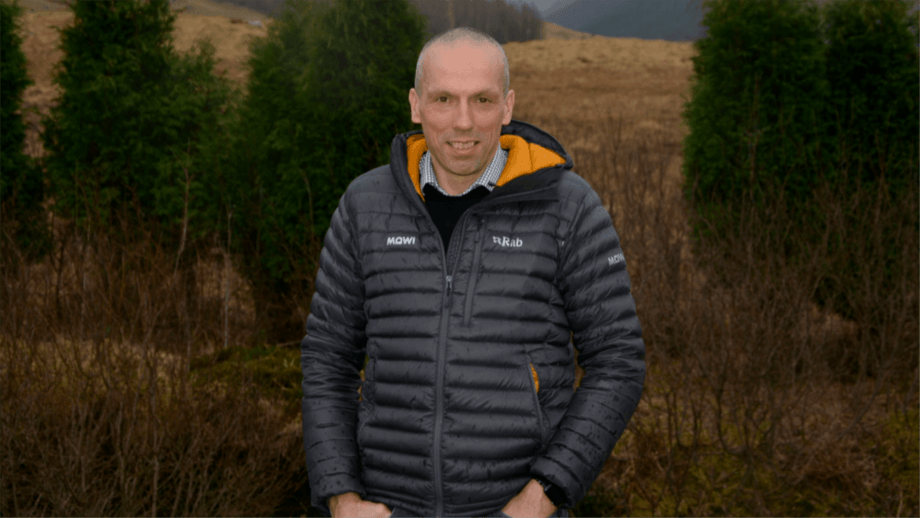 Scott Nolan will oversee expansion of the Blar Mhor processing plant which will increase capacity to more than 80,000 tonnes annually. Photo: Mowi.