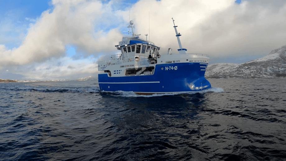 «Havbåra» er overlevert fra Viknaslipen til rederiet med samme navn. Foto: Viknaslipen
