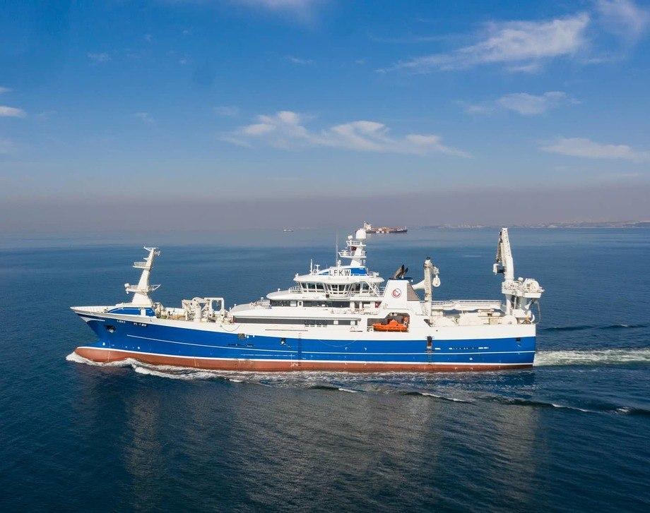Nye «Libas» er overlevert fra Cemre Shipyard til Liegruppen. Foto: Cemre Shipyard