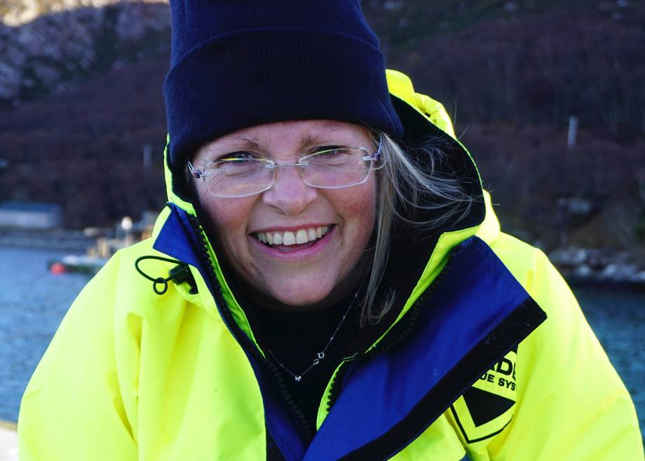 Anne Anderson joins Scottish Sea Farms today to lead its sustainability drive. Photo: SSPO