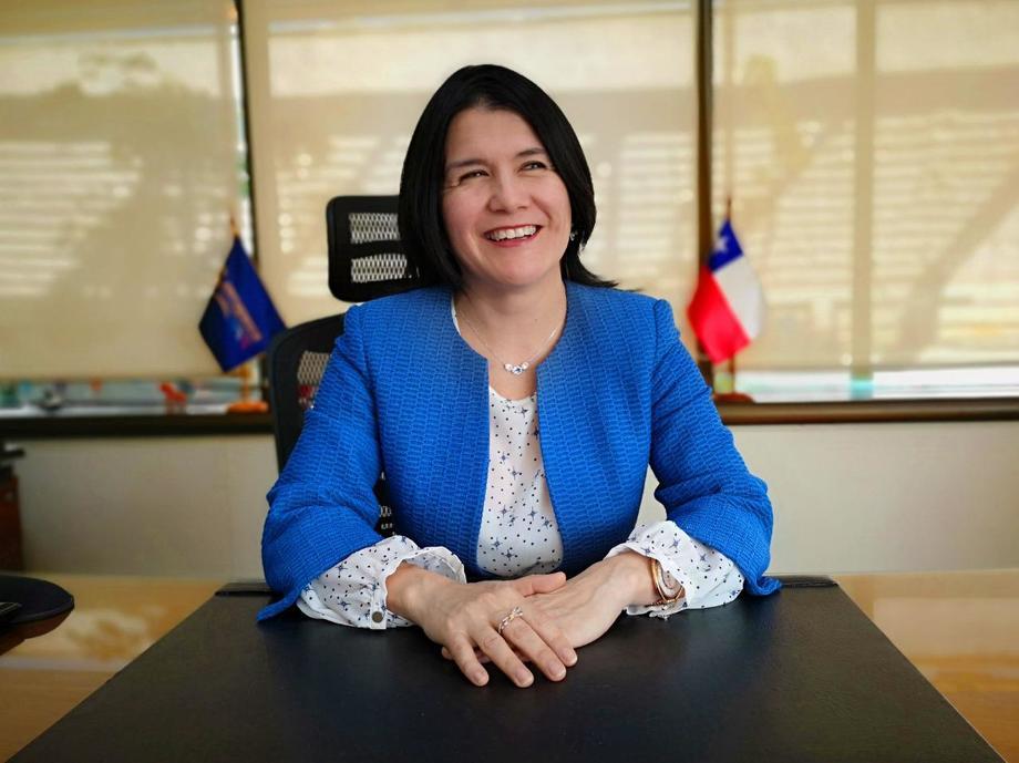 Directora nacional (s) de Sernapesca, Jéssica Fuentes. Foto: Sernapesca.