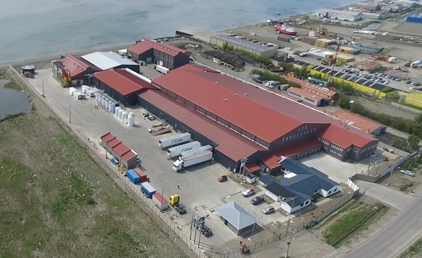 Vista aérea de planta Entrevientos. Foto: Entrevientos.