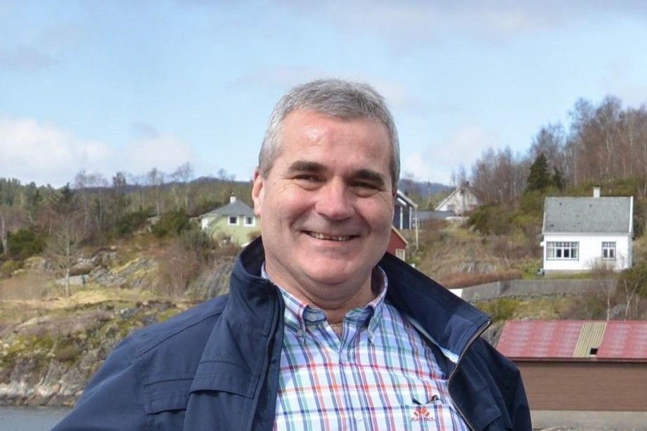 Henning Legreid, desarrollador de productos de Blue Ocean Technology. Foto: Kari Tveit