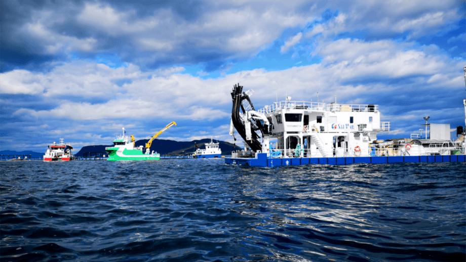 SLC 02 es un equipo Hydrolicer que utiliza SalMar y que ha dado muy buenos resultados. Foto: Alf Magne Kvalvik.