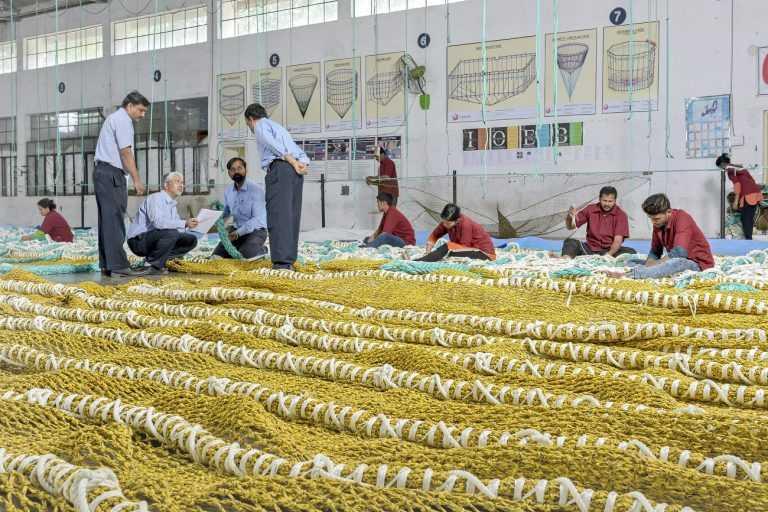 Fábrica en India de Garware. Foto: Garware.