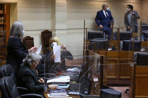 Debate parlamentario acerca del proyecto de ley RAM. Foto: Senado.