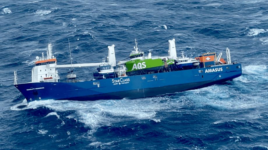 Havaristen «Eemslift Hendrika» viser behovet for havgående beredskap. Foto: HRS