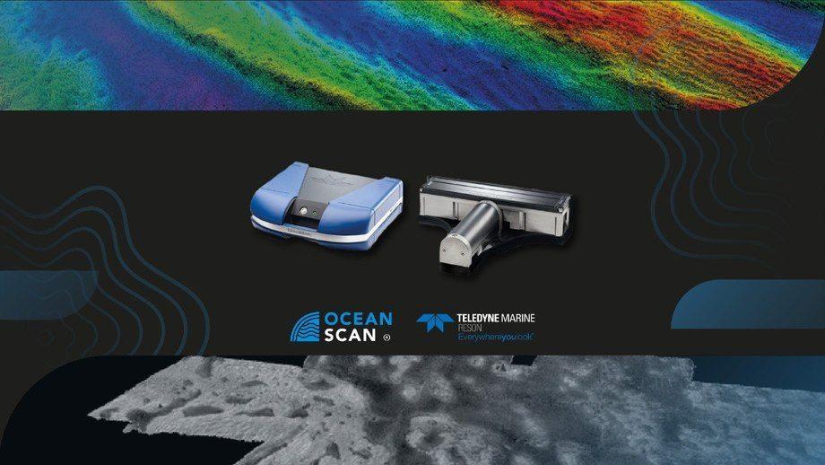La nueva tecnología permite sondear en detalle la configuración geomorfológica de los fiordos, pendientes fuertes y propiedades físicas del fondo marino. imagen: Ocean Scan.