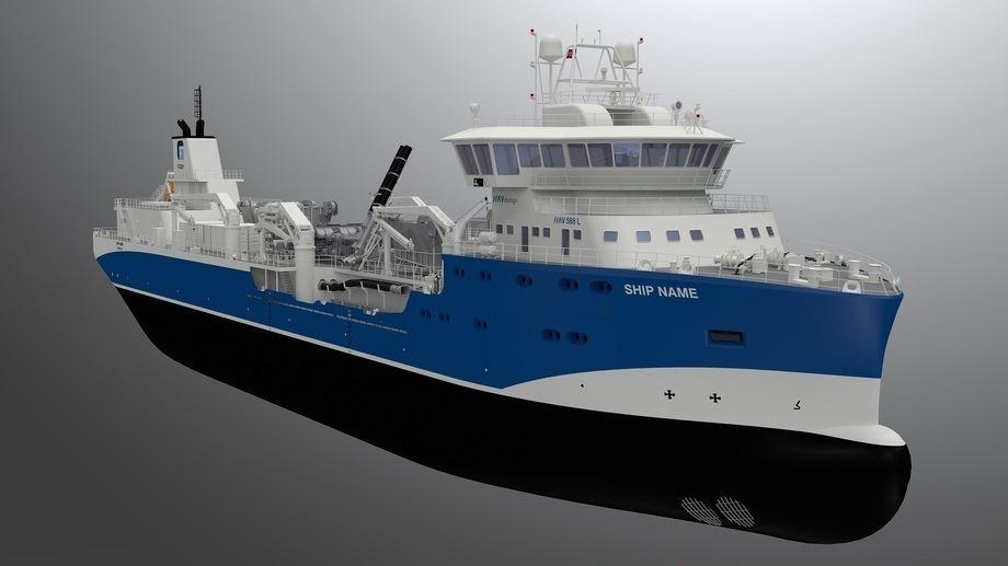 Nuevo wellboat finalmente será ocupado por Cermaq. Foto: Havyard.