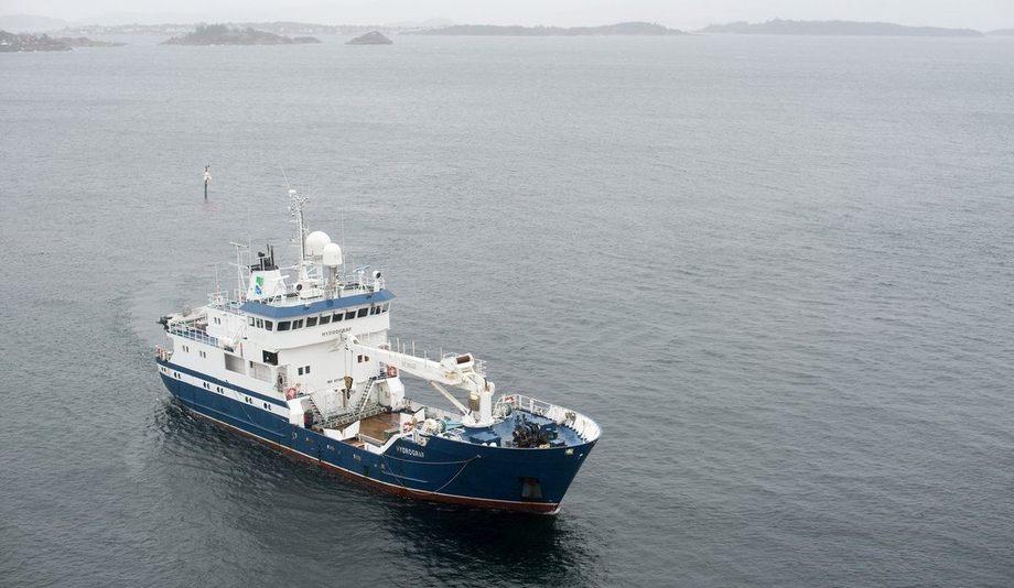 MS «Hydrograf» brukes til dybdekartlegging i norske farvann. Foto: Morten Brun / Kartverket