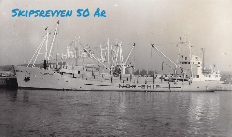 M/S «Norimo» ble overlevert til Normann Shipping i juli 1971. Foto: Ukjent