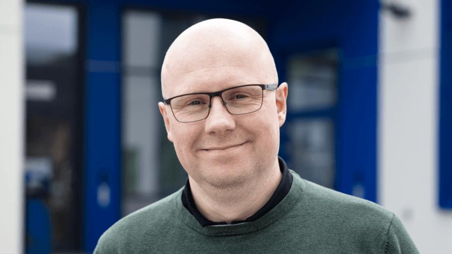 Bjørn Aage Hestvik (44) er ny sjef på Sikkerhetssenteret Rørvik. (Foto: Lykt)