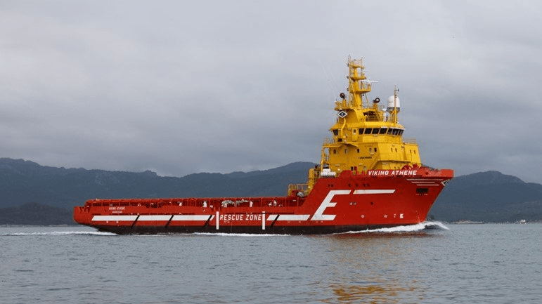The Viking Athene will be converted into a service vessel for use at SSC sites in Scotland. Photo: Bakkafrost.