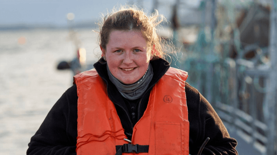 Shannon Graham is one of three graduate trainees given permanent roles by Mowi after an 18-month training period. Graham is now trainee assistant manager at Lochailort Hatchery. Photos: Mowi.