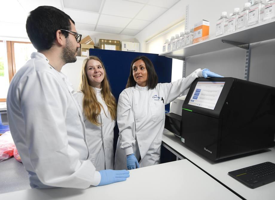 GeneXpertise es una consultoría y revisión genética para asesorar mejores prácticas genéticas en trucha arcoíris. Foto: Xelect.