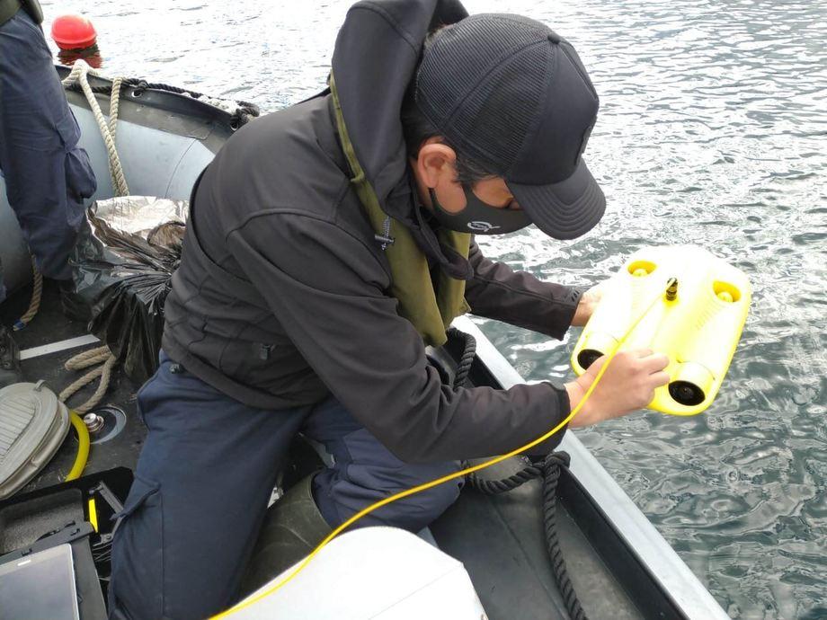 En la zona afectada existen tres concesiones de salmónidos. Foto: Sernapesca.