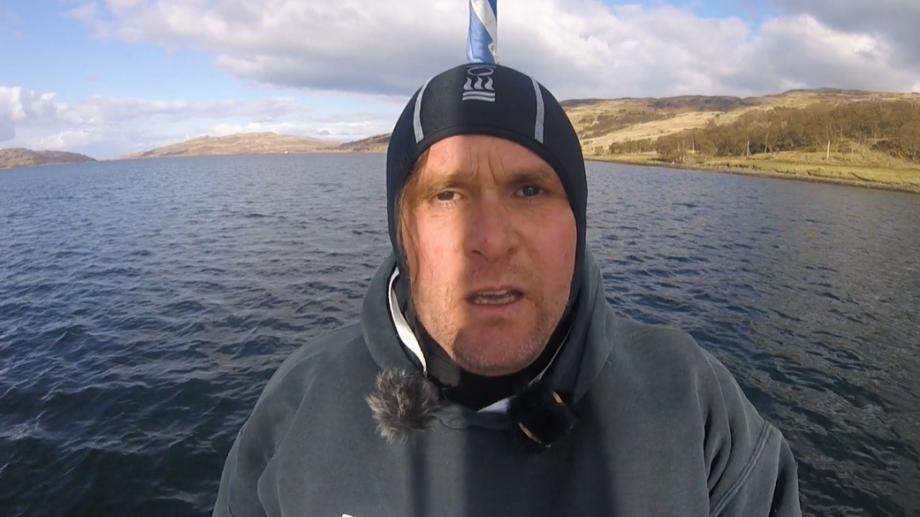Anti-salmon farming activist Don Staniford.