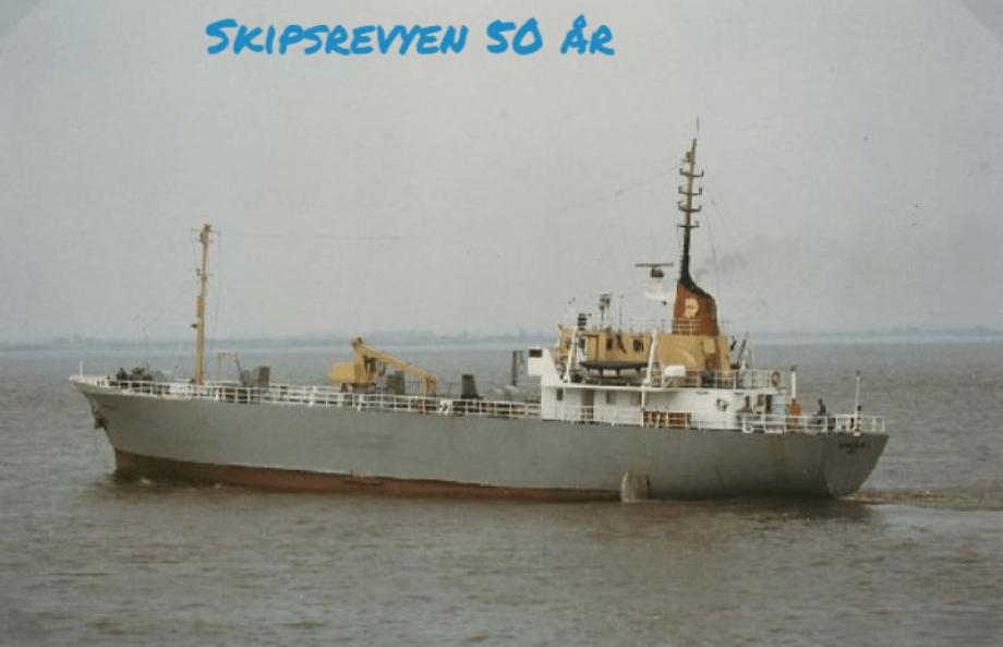 «Bukkeskjell» gikk de første årene på en kontrakt for Norske Shell. Foto: Arne Gundersen/Sjøhistorie