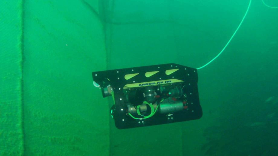 El ROV Artifex durante las pruebas. Foto: SINTEF Ocean AS.