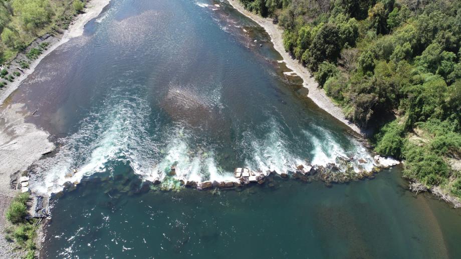 Río Rahue. Foto: SMA.