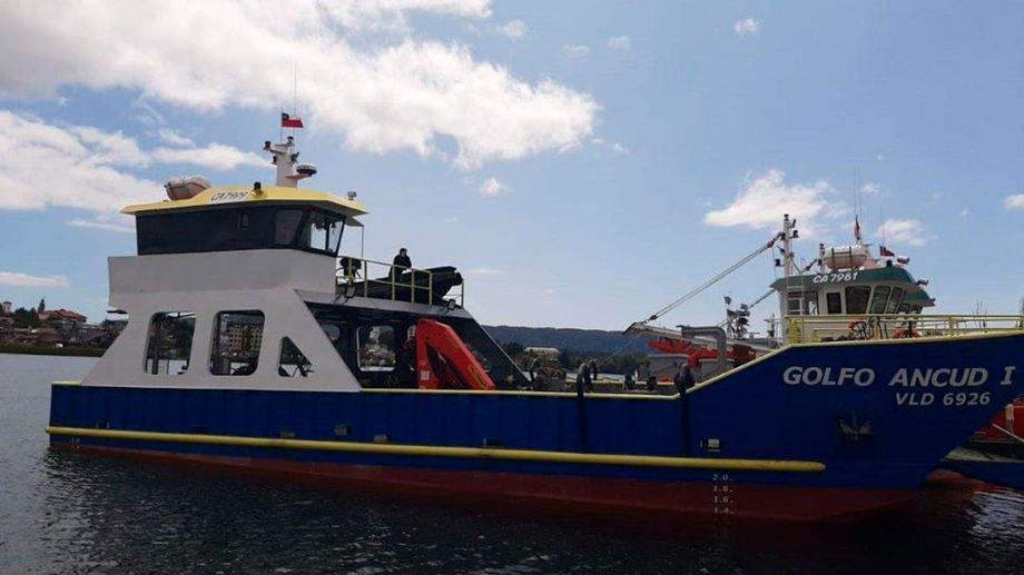 Nave menor Golfo Ancud I. Foto: Frasal.