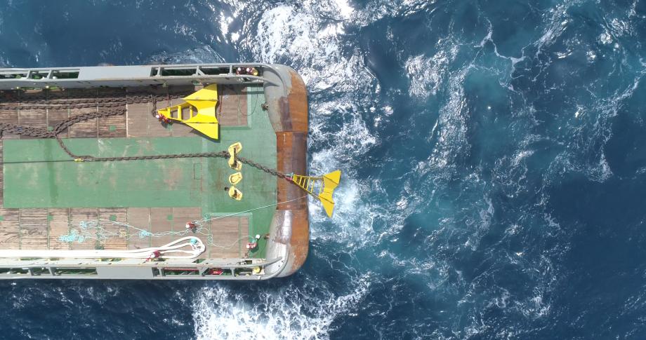 Det norske batteriteknologi-selskapet Hagal har kjøpt Norwegian Ocean Power for å kunne sette fart på elektrifiseringen av sjønæringen med en ny generasjon maritime batteriløsninger. Foto: Hagal.
