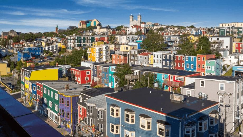 St John's, Newfoundland. Photo: newfoundlandandlabrador.com