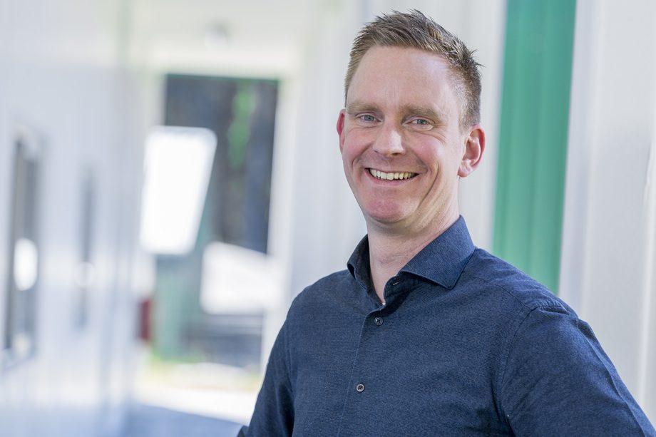 Robbert Blonk, director de I+D de Acuicultura en Hendrix Genetics. Foto: Skretting.