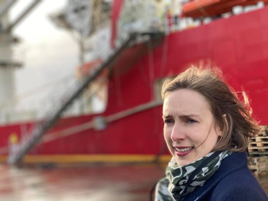 Næringsminister Iselin Nybø (V). Foto: NFD.