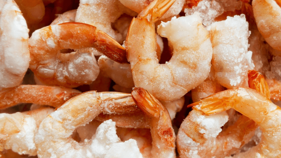 A reference image of frozen shrimp. Nuevo Pescanova has teamed up with IBM to ensure traceability of its products, beginning with two key operations, shrimp fishing in Argentina and the cultivation of Vannamei shrimp in Ecuador. Photo: Nuevo Pescanova.