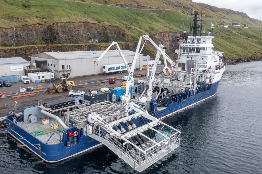 Here's one we made earlier: MS Martin, a converted offshore industry supply ship now to be used as a delousing vessel by Bakkafrost in the Faroes. MEST Shipyard has won the contract to convert a sister ship, the Viking Athene, for use in Scotland. Photo: MEST Shipyard.