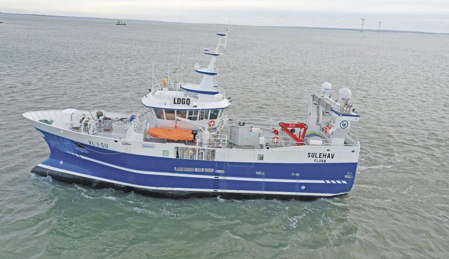 Med nye «Sulehav» dobler Lending Rederi antallet fartøy i flåten . Foto: Thyborøn Skibs & Motor